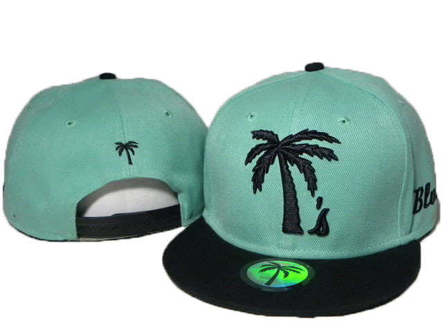 BLVD Green Snapbacks Hat DD 0613